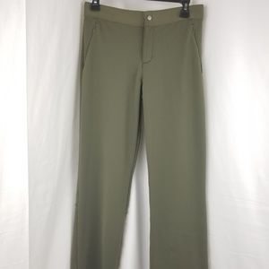 Womens Athleta Green Cropped Sz S Small